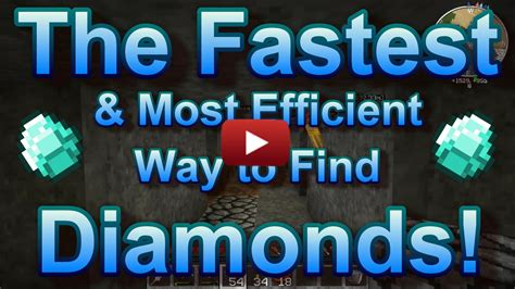How To Search For In How To Find Diamonds In Minecraft Survival Fast 1 8 1 7 5 1 7 10 Any Version