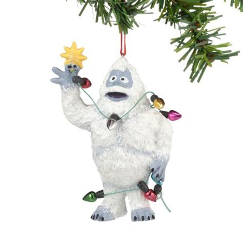 adorable abominable snowman christmas decoration