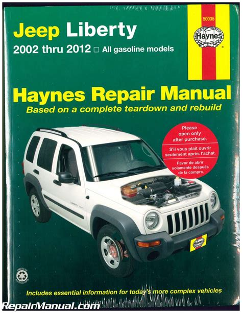 what is the best auto repair manual 2012 toyota sienna lane departure warning haynes jeep liberty 2002 2012 auto repair manual