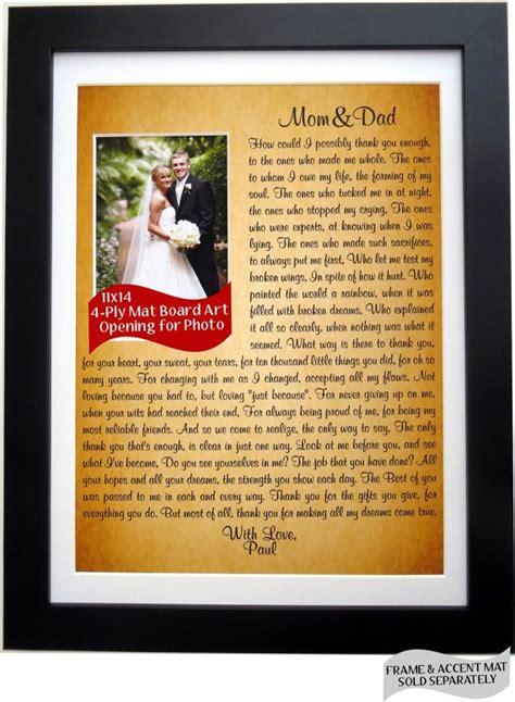 thank you letter to s parents from groom 17 best images about thank you poems on