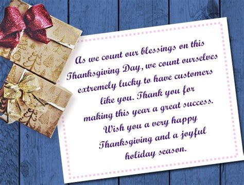 thanksgiving appreciation letter to clients heartfelt thank you messages to show customer appreciation
