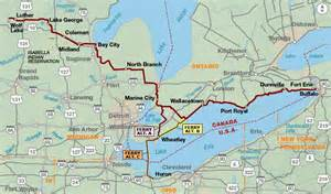 lake erie connector adventure cycling route network