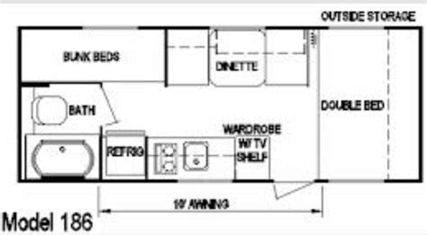 layton rv floor plans layton cer floorplan dfw cer rentals