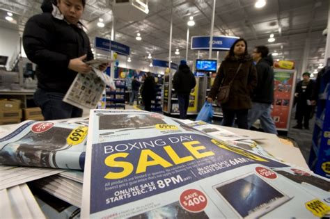 are you looking for a store that offers for sale modern kitchen shoppers flood stores looking for boxing day deals cp24 com