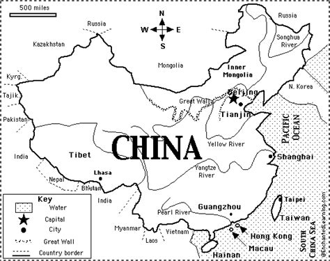 printable maps china china map printout enchantedlearning com