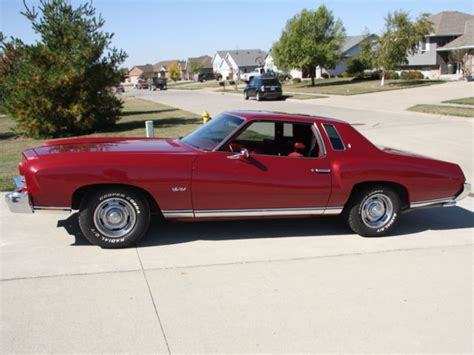 small engine maintenance and repair 1973 chevrolet monte carlo seat position control no reserve 1973 monte carlo for sale photos technical specifications description