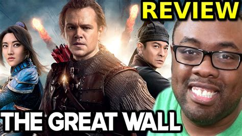 film china rating tinggi the great wall movie review matt damon saves china