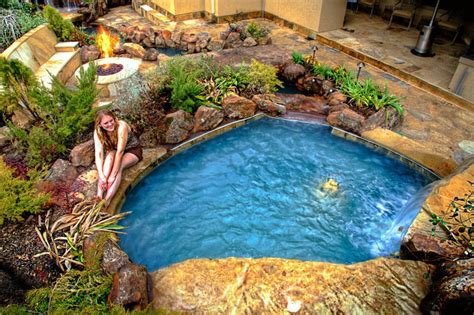 backyard paradise  spectacular natural pools
