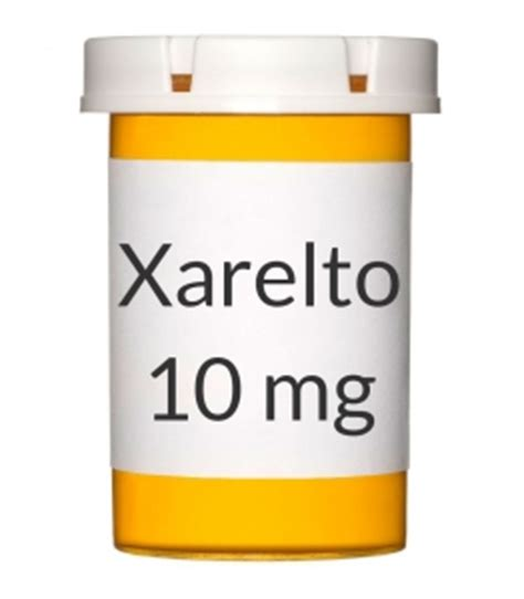 Xarelto 10 Mg Tablet 10 S xarelto 10 mg tablets