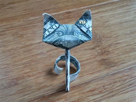 Dollar Origami Cat - 17 images about money dollar origami on