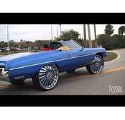 Candy Blue 72 Caprice Donk On 26 DUB Hurricayne Floaters  1080p HD