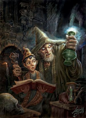 elements of fantasy #1 – wizards, warlocks and witches