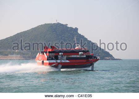 jet boat hong kong to macau china hong kong hong kong to macau water jet boat stock