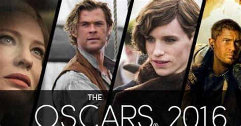 daftar film terbaik oscar 2016 daftar lengkap nominasi piala oscar the academy awards