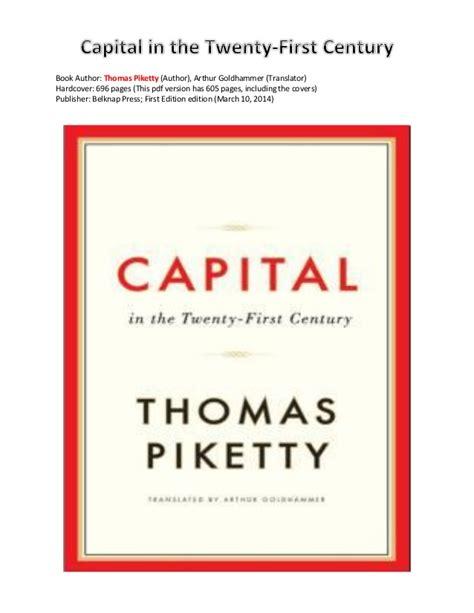 Capital In The Twenty Century Karanganthomas Piketty piketty capital in the twenty century 2014 a