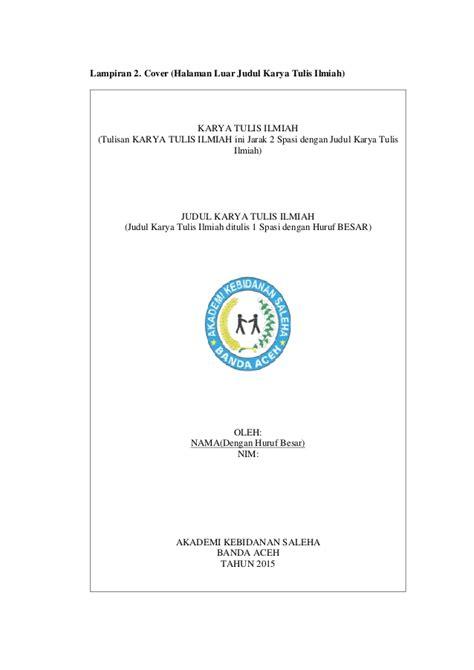 Buku Panduan Karya Tulis Guru Vz contoh cover buku panduan gontoh