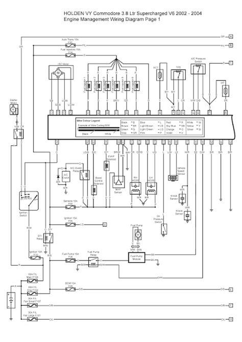 100 vt commodore indicator wiring diagram