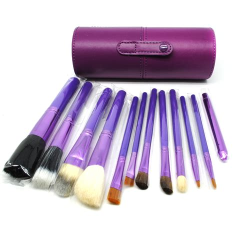Kuas Make Up Sepaket kuas make up 12 set dengan purple jakartanotebook