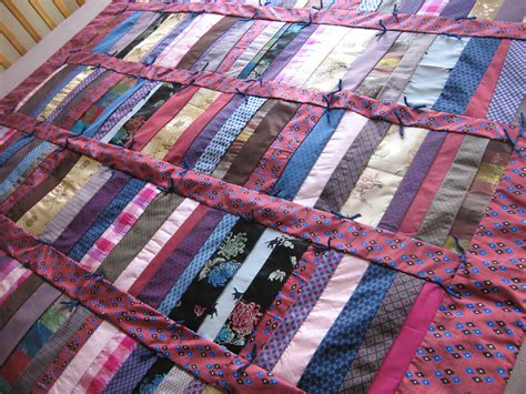 Tying A Quilt by Hermes Tie Quilt Patwig S