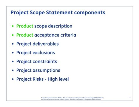 project scope and requirements management