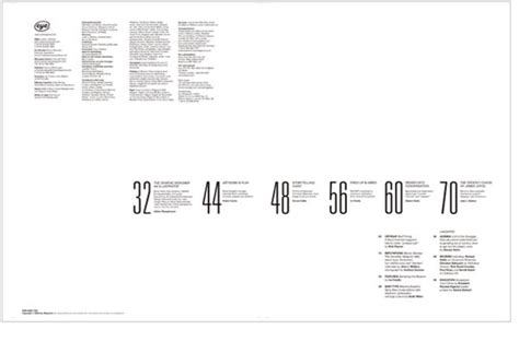 graphic design table layout graphic design table of contents www pixshark com