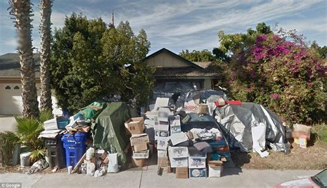 hoarder house infamous san diego hoarder s mira mesa home finally gets cleaned up daily mail online