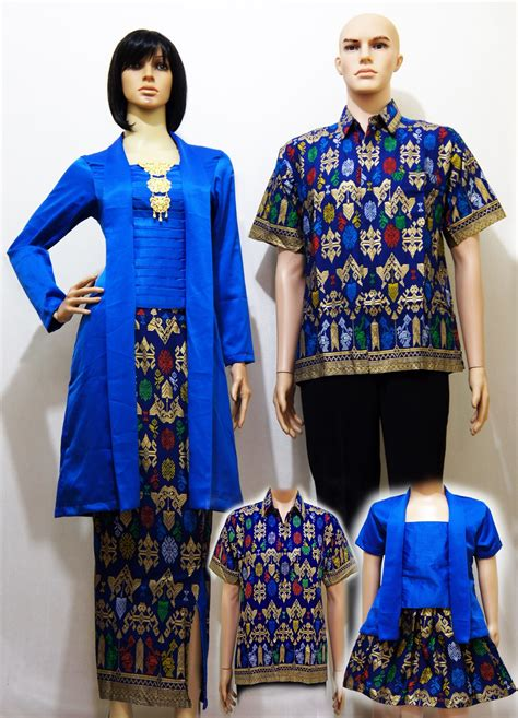 Kebaya Sarimbit Keluarga jual batik baju keluarga kebaya sarimbit grosir batik arla