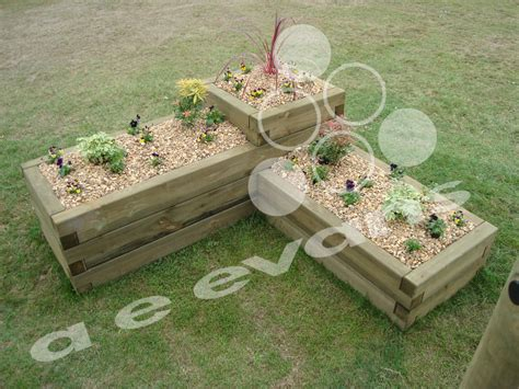 Sleeper Planters by 3 Tier Sleeper Planter Sleeper Planters A E