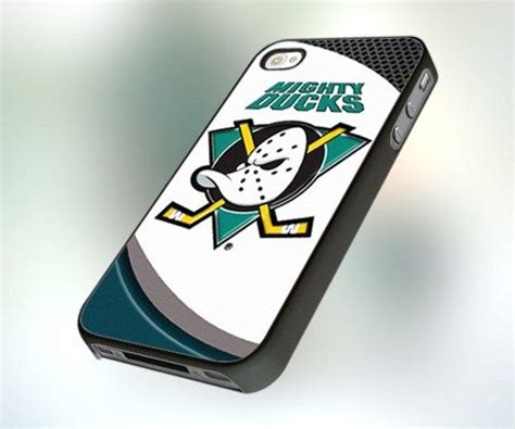 Anaheim Mighty Duck Nhl Iphone 4 4s 5 5s 5c 6 6s 7 Plus 1 the mighty ducks nhl hokey team design for iphone 4 or 4s