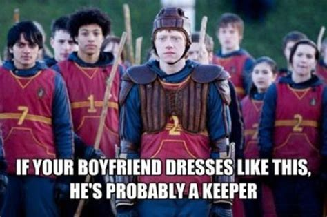 he's probably a keeper…