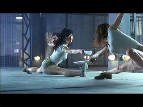 china film fight naked weapon 2002 movie clips cage fight scene maggie