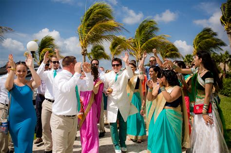 wedding india colorful indian wedding in cancun the destination