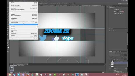 tuto faire une banni 233 re avec photoshop cs6 template