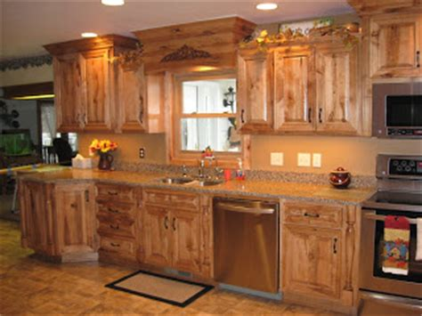 big construction rustic maple kitchen
