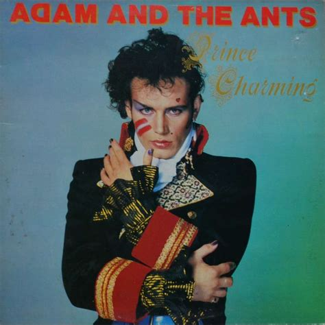 prince charming by adam and the ants lp gatefold with
