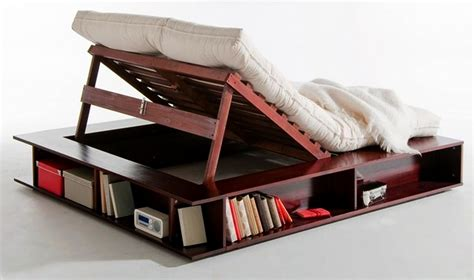 lift up storage bed is perfect for cozy movie nights