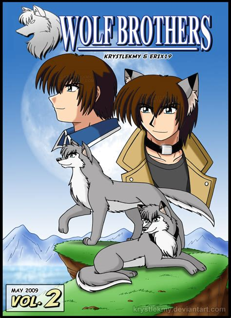 awaken me the brothers volume 6 books wolf brothers vol 2 cover by krystlekmy on deviantart