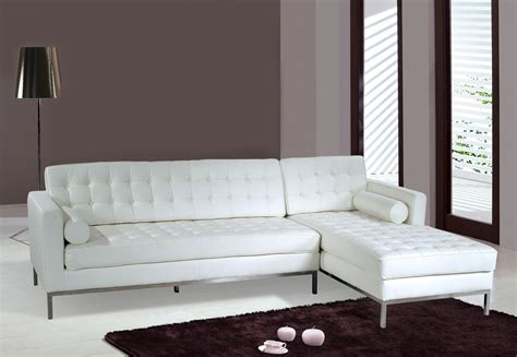 White Sofa Bed Leather Best Idea White Leather Sofa Beds Decosee