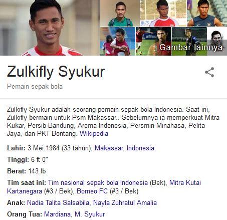 biodata hamka hamzah zulkifli syukur profil biografi pemain sepak bola dunia
