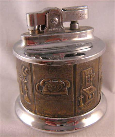 27 Lighters On Dresser by Vintage Idealine Table Lighter W Antique Telephones