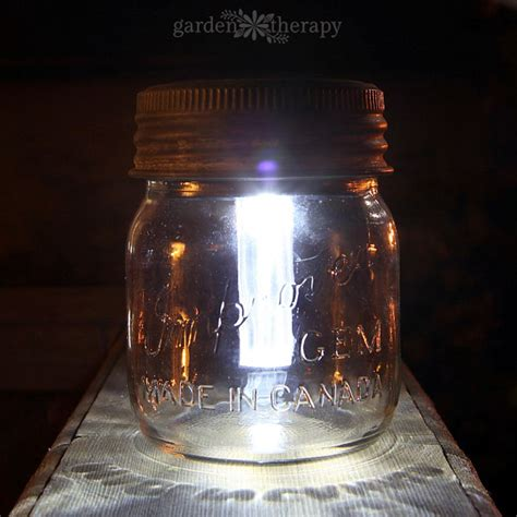 jar solar lights
