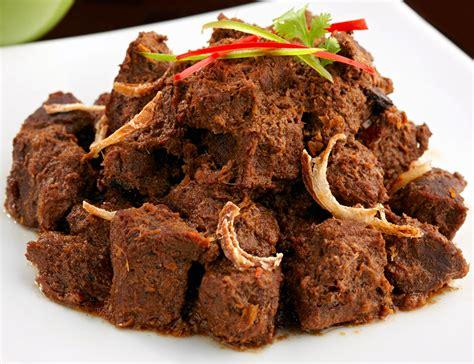 Rendang Solok delicious cuisine of padang west sumatera