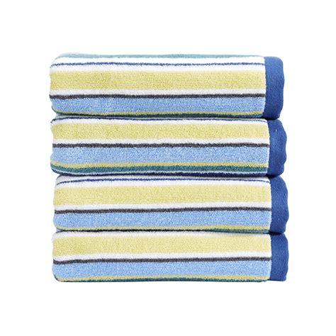 striped bathroom buy christy portobello stripe towel blue amara