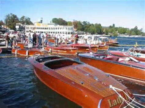 boat show in lake george ny 2007 international antique boat show lake george ny