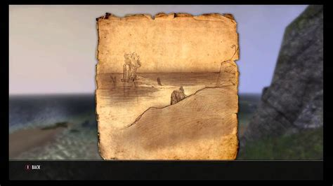 betnikh treasure map the elder scrolls betnikh treasure map 1 location