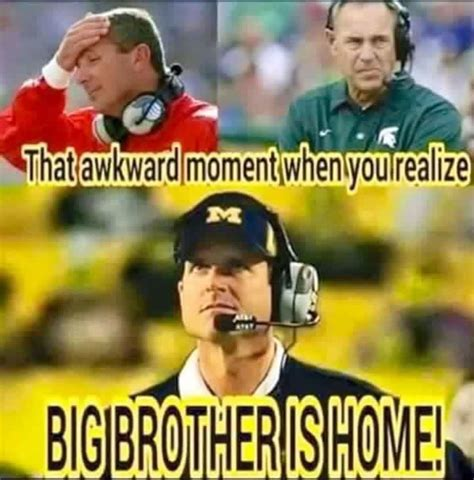 Michigan State Football Memes - 878 best go blue images on pinterest michigan wolverines