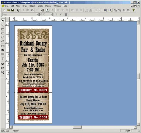 free printing raffle tickets software raffle tickets software