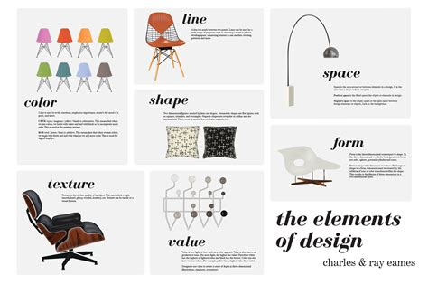 design elements form and space the elements of design ray charles eames on behance
