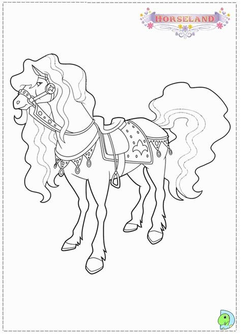 horseland coloring pages horseland pictures coloring home