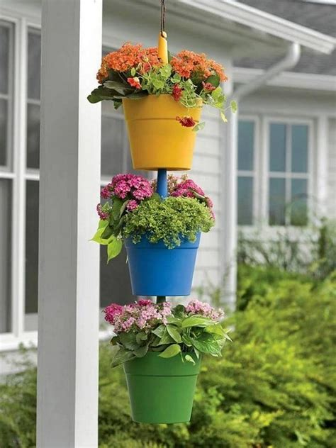 hanging container garden knickknack ideas for hanging plants recycled things